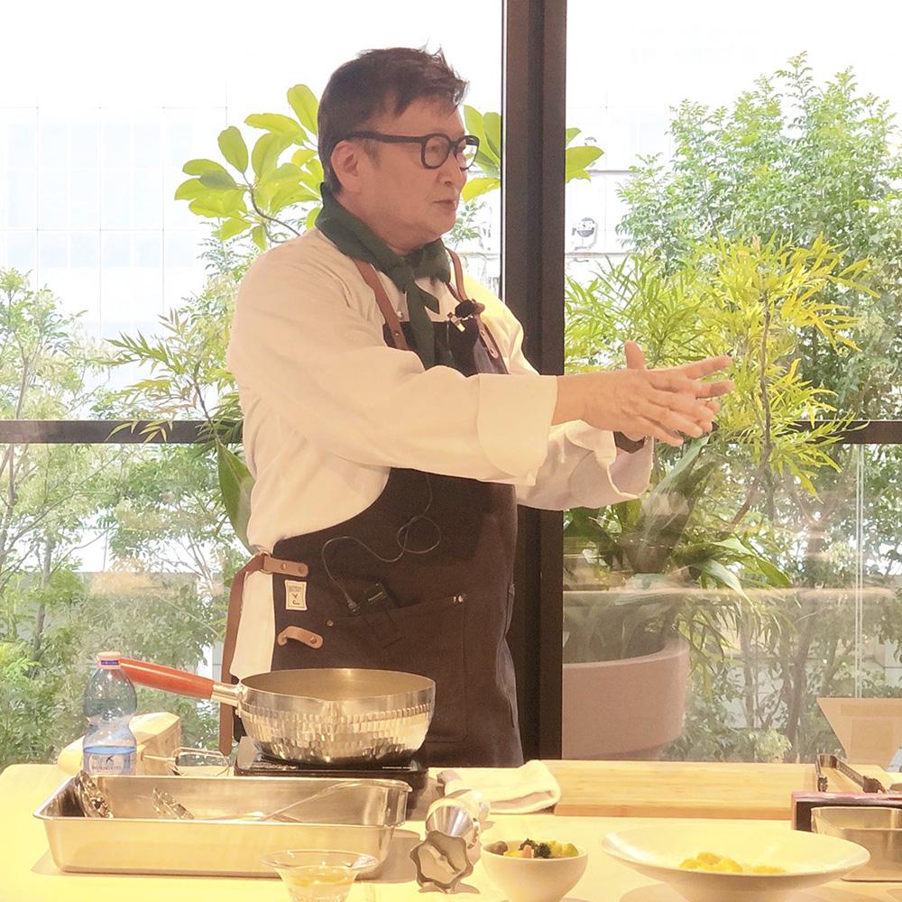 高級バタートップシェフ料理教室キャスティング